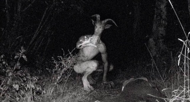 What is all this nonsense about the Goatman? Credit: Youtube/Strange Mysteries