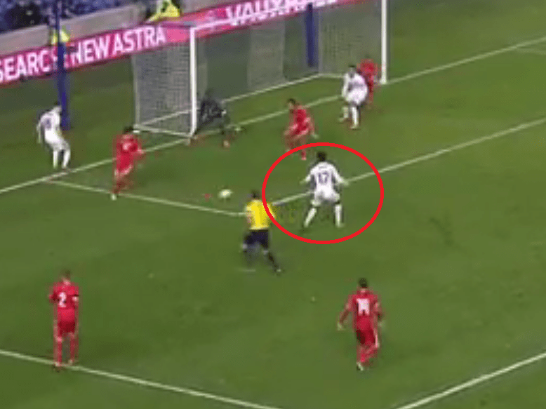 Arsenal striker Chuba Akpom continues fine form with classy goal for England Under-21s