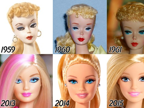 The incredible transformation of Barbie over the last 56 years