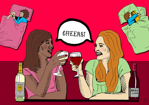 29 really good reasons for mums to have glass of wine