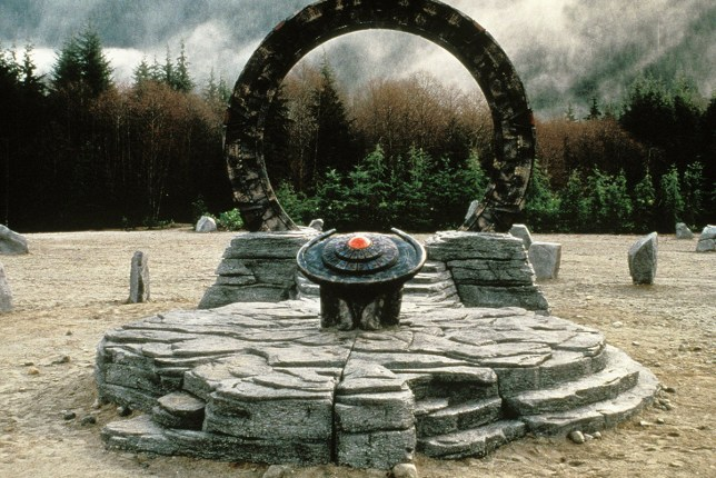 An actual Stargate has just opened up in the sea, UFO fans