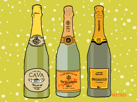 Prosecco, champagne and cava – can anyone tell the difference?