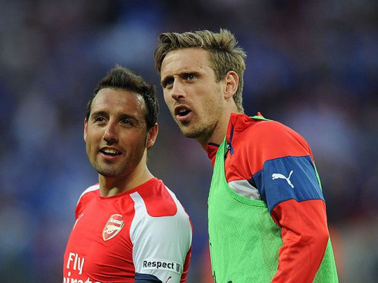 One phone call from Santi Cazorla convinced me to seal Arsenal transfer, reveals Nacho Monreal