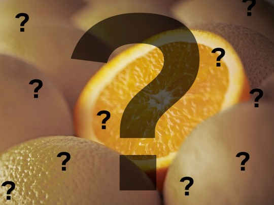 Was the Color Orange Named After the Fruit Or the Other Way Around?
