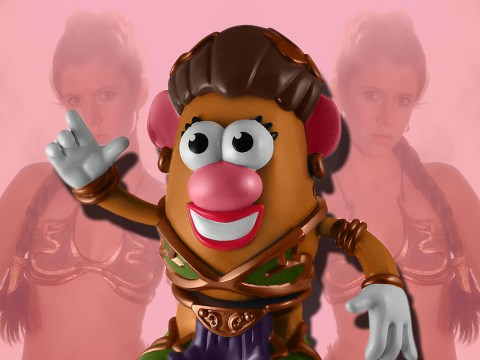 There is a bikini-clad Princess Leia Mrs Potato Head and it's all kinds of wrong