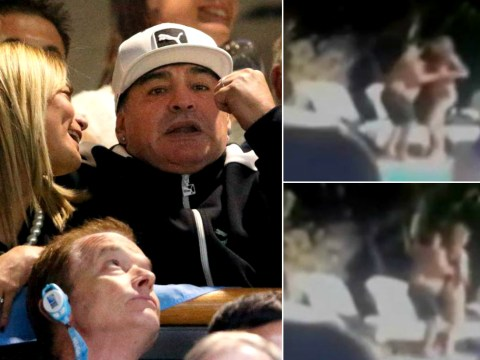 Diego Maradona thrown out of hotel for dirty dancing with fiancée