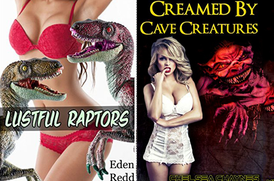 Dinosaur Erotica Books Are A Real Thing That Exists