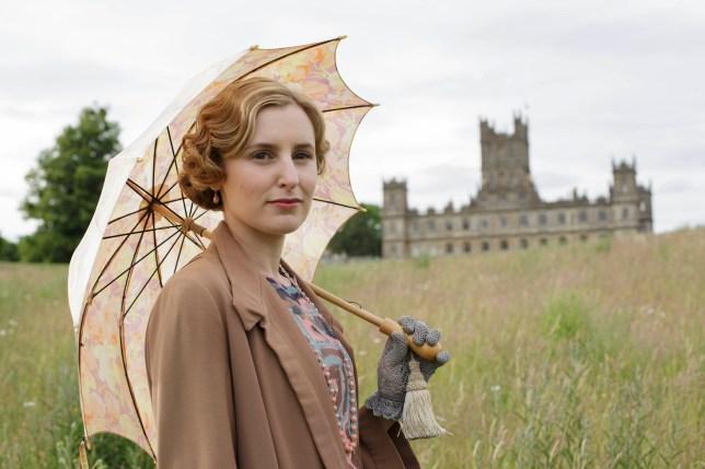 Downton Abbey | Series Six LAURA CARMICHAEL as Lady Edith Crawley