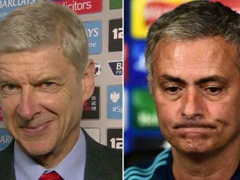 Arsenal boss Arsene Wenger takes subtle dig at Chelsea's title chances
