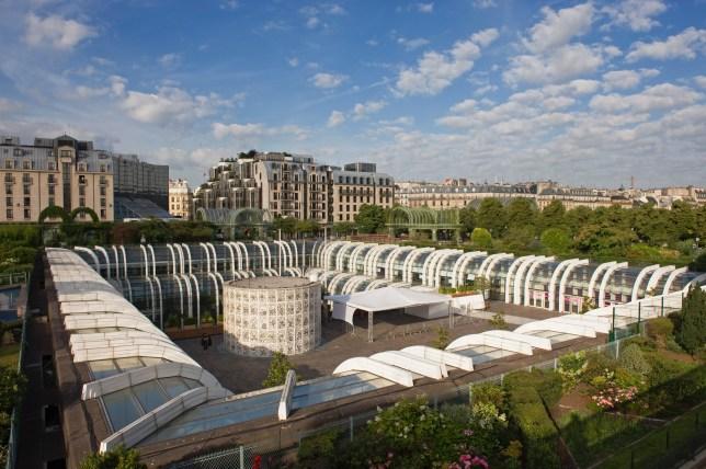 France, Paris, Forum des Halles (mall)