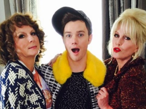 Guess which Glee star has joined the Absolutely Fabulous movie…