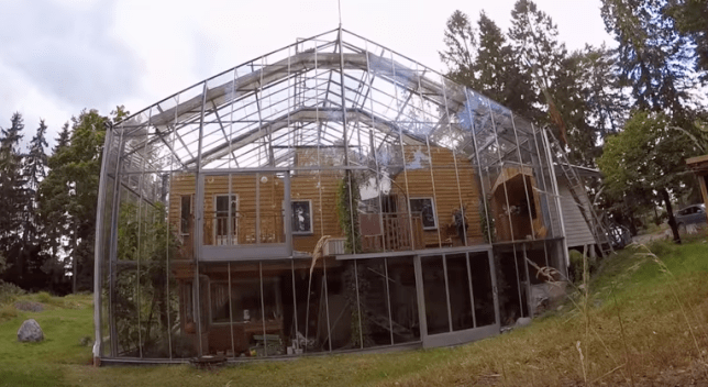 Remarkable This Family Made Their House Into A Giant Greenhouse To Keep Home Remodeling Inspirations Gresiscottssportslandcom