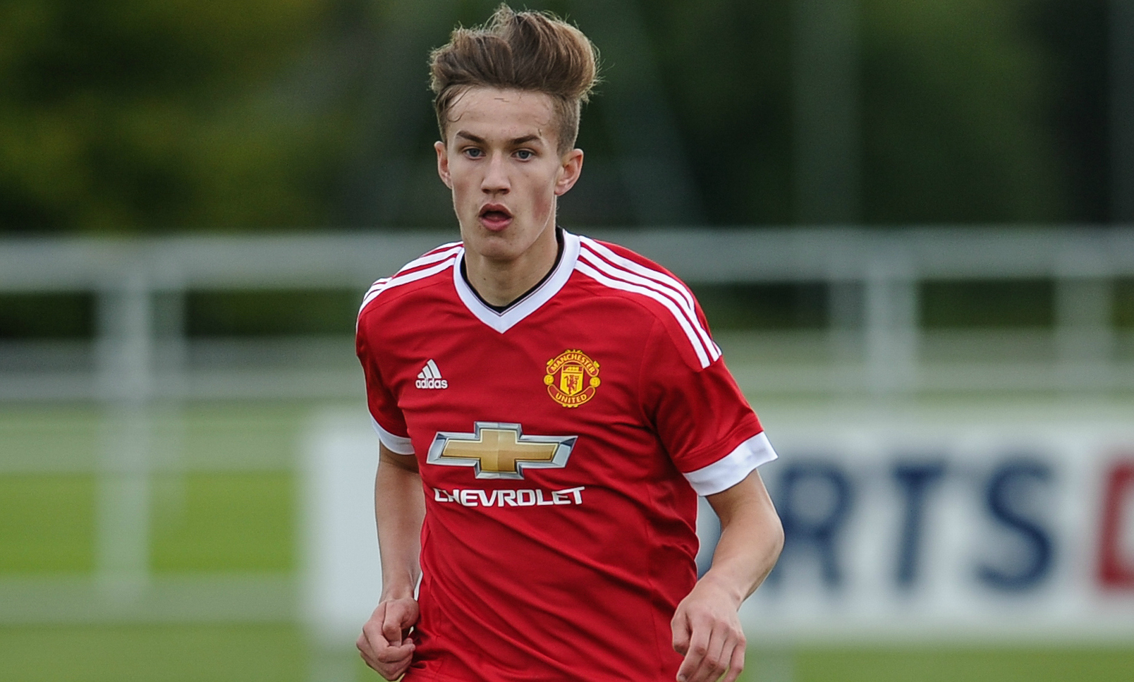 Callum Gribbin rejected Manchester City to stay at Old Trafford (Picture:Getty Images)