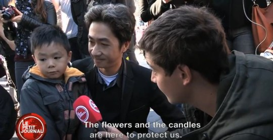 French Father Explains Paris Attacks to Young Son: Watch