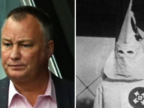 NHS nurse suspended for posing next to black colleague while wearing a KKK hood made out of a paper napkin
