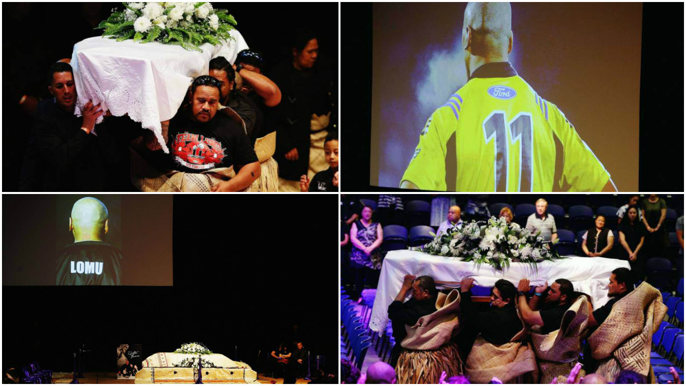 Rugby world says farewell to Jonah Lomu at New Zealand icon's funeral