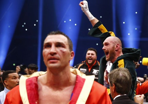 In pictures: Tyson Fury stuns Wladimir Klitschko to become heavyweight champion of the world