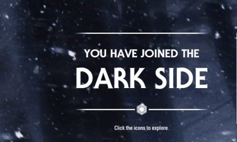 Here's how to change your Google account to the dark side of Star Wars