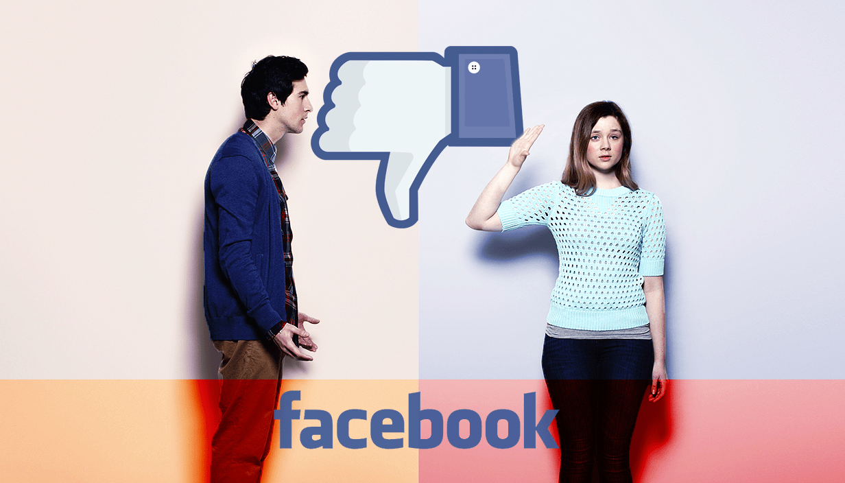 Facebook relationship break-up boyfriend girlfriend Source: Getty Images Credit: METRO/Myles Goode