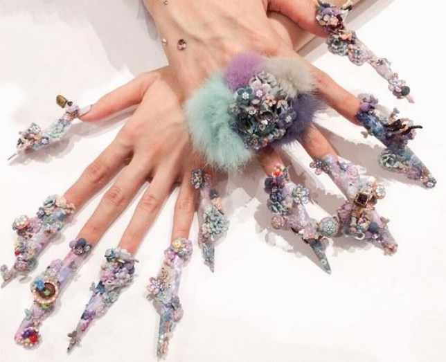 These insane nail art designs from the Tokyo Nail Expo 2015 will ...