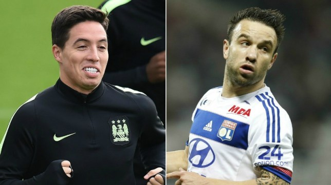 Is Nasri involved? (Picture: AFP/Getty)