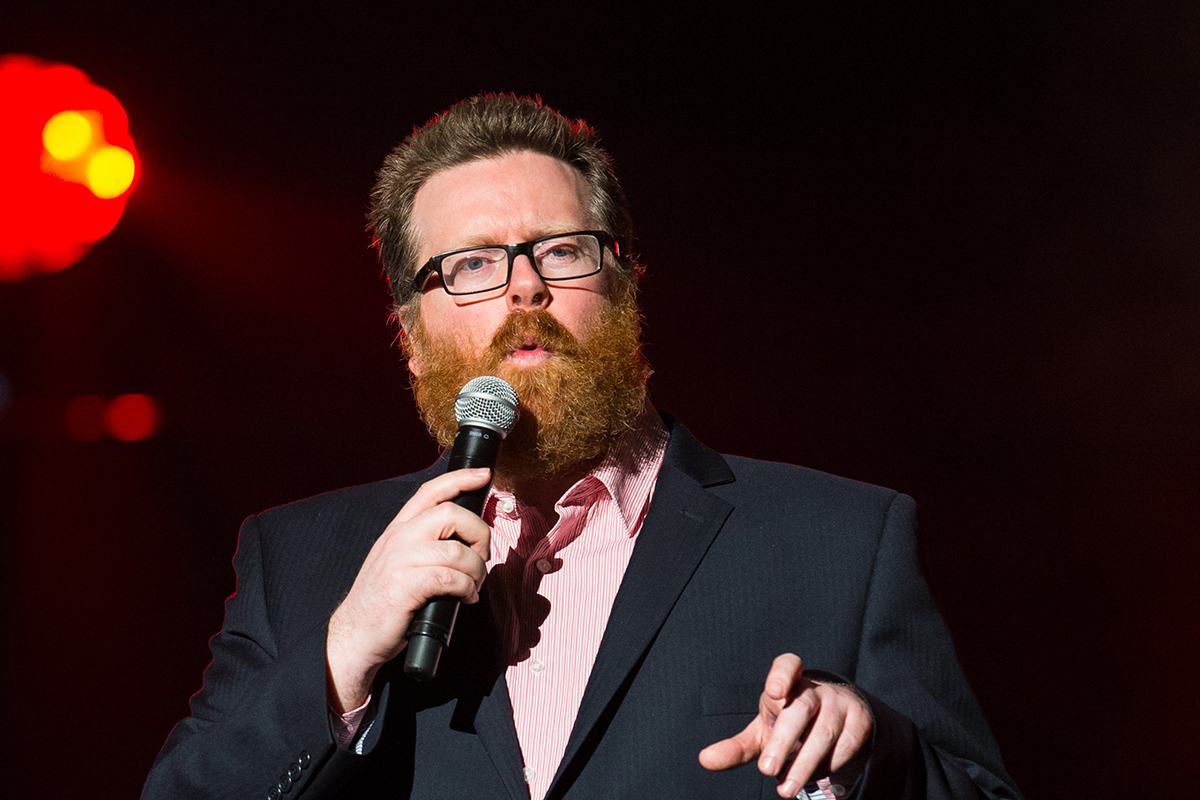 Frankie Boyle is not happy with western governments (Picture: PA)