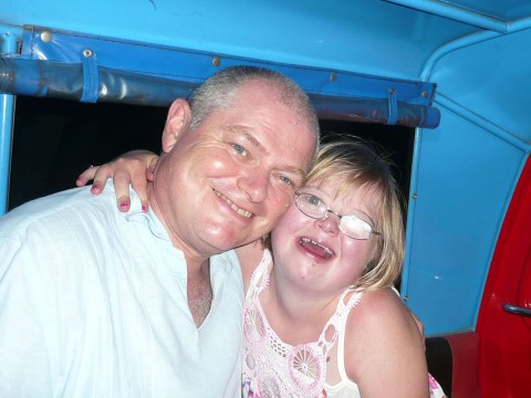 High-flying businessman quits job to care for his sick Down's Syndrome daughter