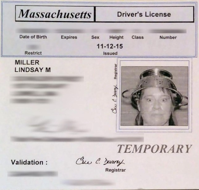 Lindsay Miller Driver License The Washington Times