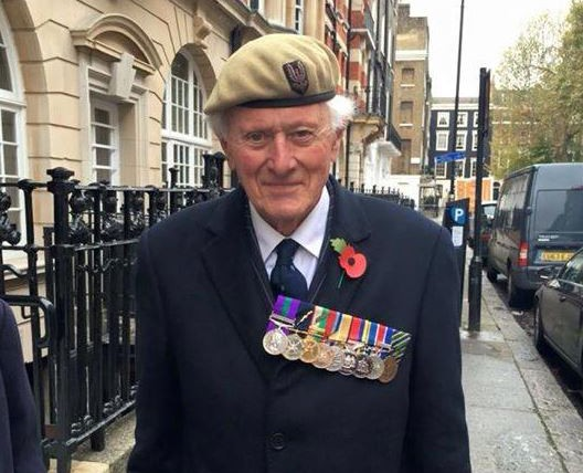 Appeal to help war veteran with dementia find beret and medals lost at Remembrance Sunday service Credit: Facebook/Lostbox