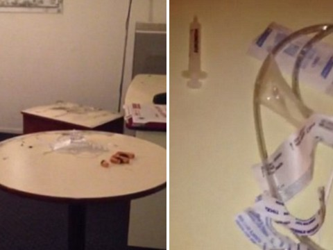 Needles and syringes found in room used by terrorists before Paris attacks
