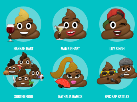 If you've ever wanted to give your poo a moustache or glasses, your wish has come true
