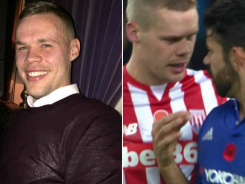 Ryan Shawcross given year's supply of deodorant after Diego Costa trolling