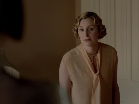 Downton Abbey's finale promises to be explosive as Lady Edith calls Mary a 'b***h' – will they make up?