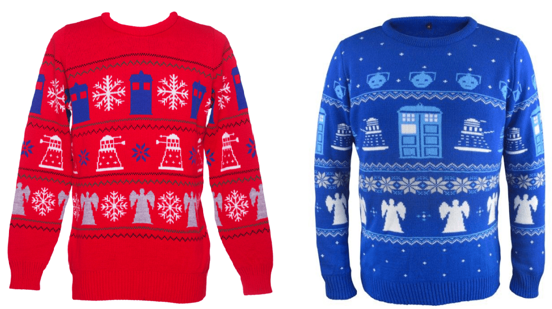 Doctor Who Christmas jumper