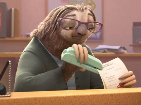Trailer for Disney's Zootropolis arrives and it's full of bureaucratic sloths