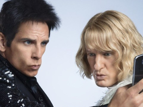 Derek and Hansel compete for the best selfie in first Zoolander 2 poster
