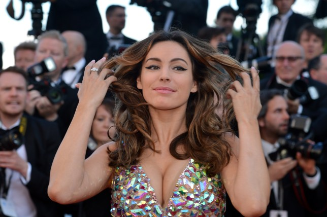 Kelly Brook has been axed from Countrywise (Picture: ALBERTO PIZZOLI/AFP/GettyImages)