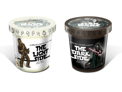 Star Wars ice-cream is now a thing – but would you prefer the Light Side or the Dark Side?