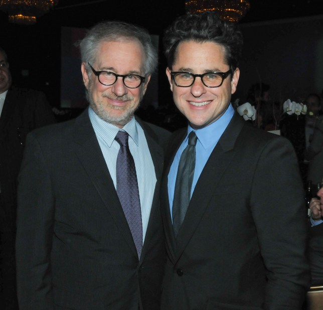 Do they have a cunning plan? Directors Steven Spielberg and JJ Abrams probably back Screening Room as they'll get more money too (Picture: Michael Kovac/WireImage)