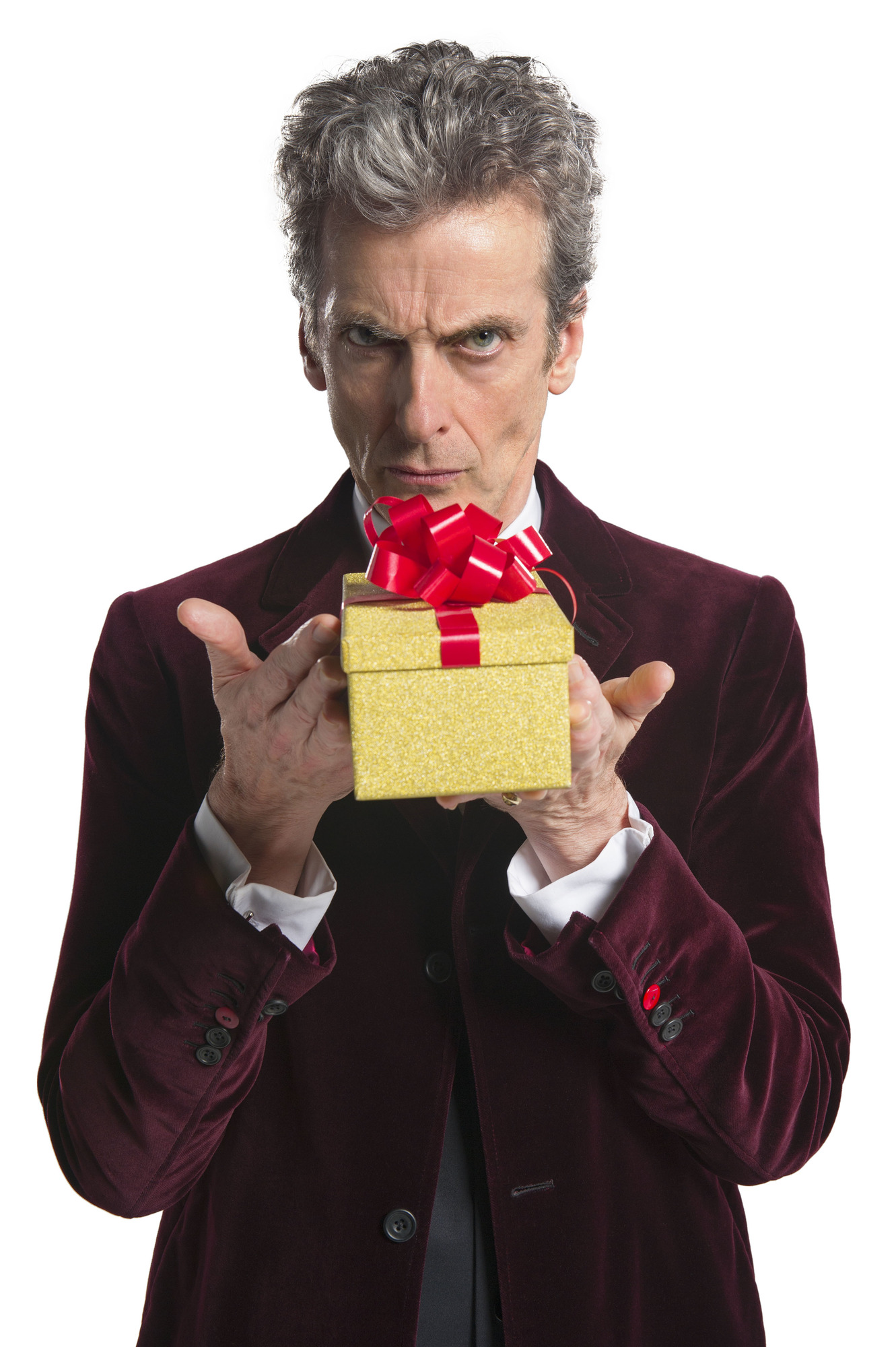 WARNING: Embargoed for publication until 00:00:01 on 03/12/2015 - Programme Name: Doctor Who - TX: 25/12/2015 - Episode: n/a (No. n/a) - Picture Shows: ***EMBARGOED UNTIL 00:01hrs 3rd DEC 2015*** Doctor Who (PETER CAPALDI) - (C) BBC - Photographer: Ray Burmiston