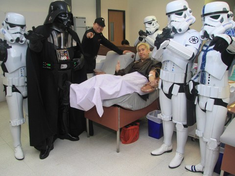 Star Wars music makes colonoscopies more effective… and we're not sure how to deal with that