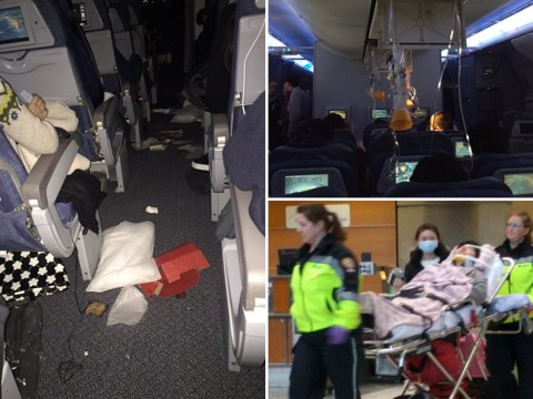 Severe turbulence on flight from China to Canada leaves 21 passengers injured