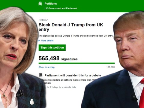 Government responds to petition to ban Donald Trump from UK
