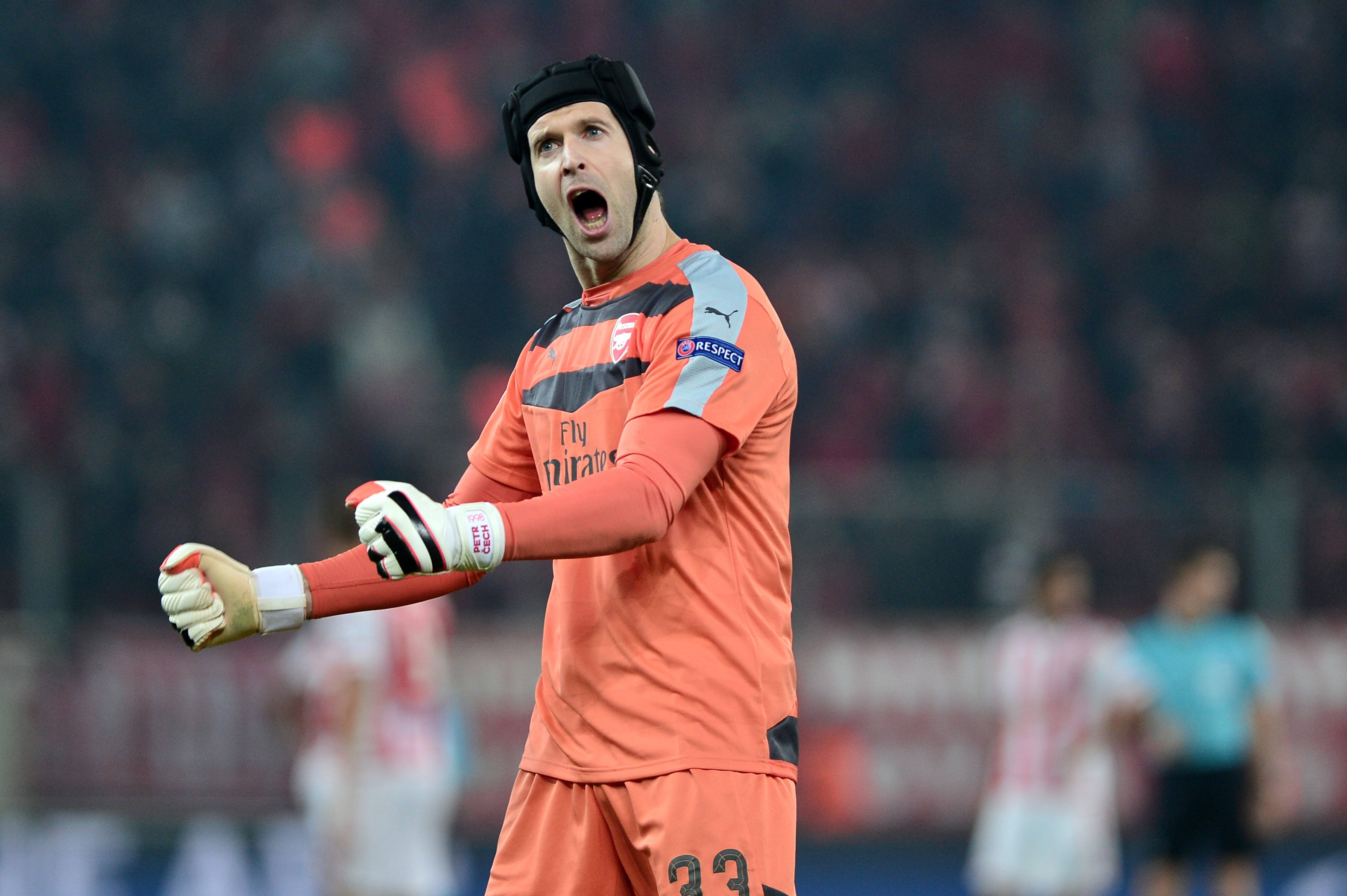 Theo Walcott: Petr Cech has transformed Arsenal's defence