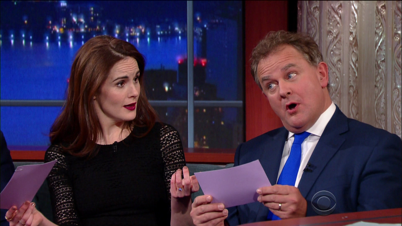 Downton Abbey sounds very different when performed in American accents