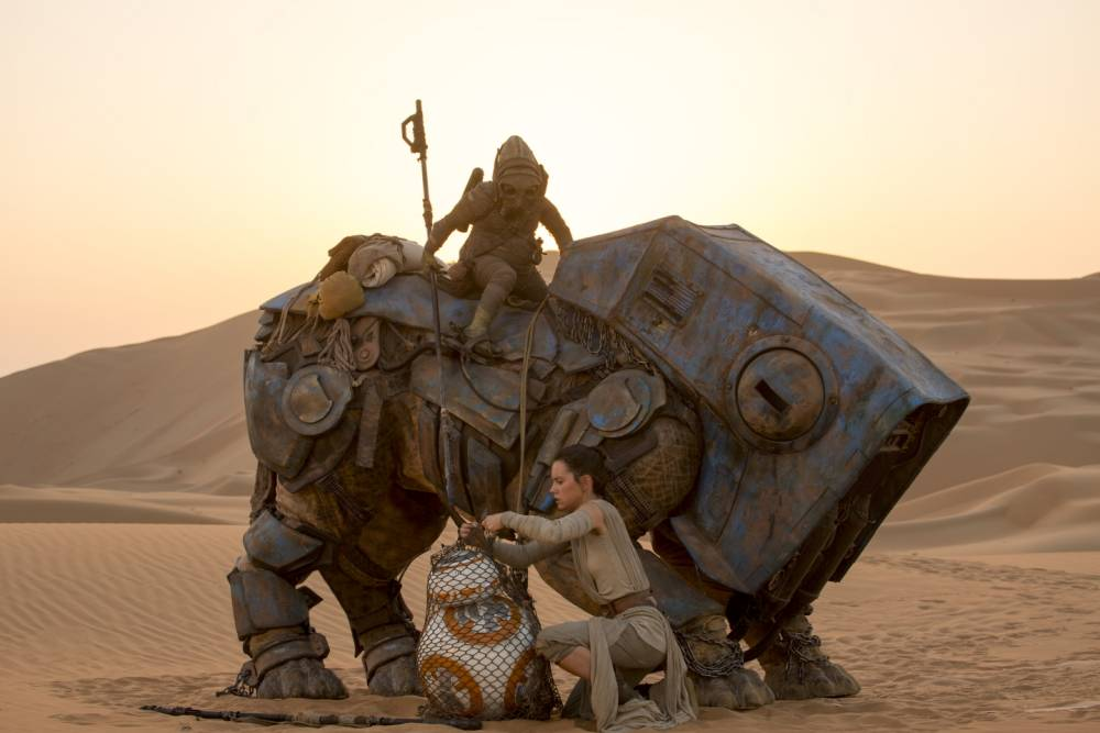 Star Wars Episode 9 could see a return to Jakku, the desert planet from The Force Awakens