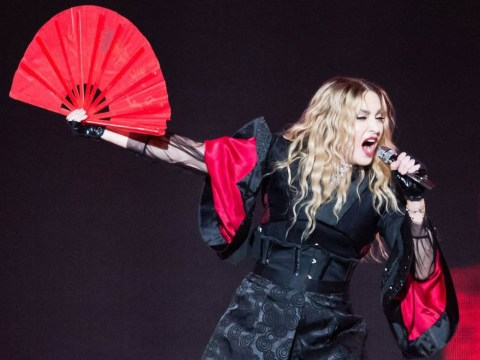 Did Madonna use a 'fake' police car to leave London's O2 Arena?