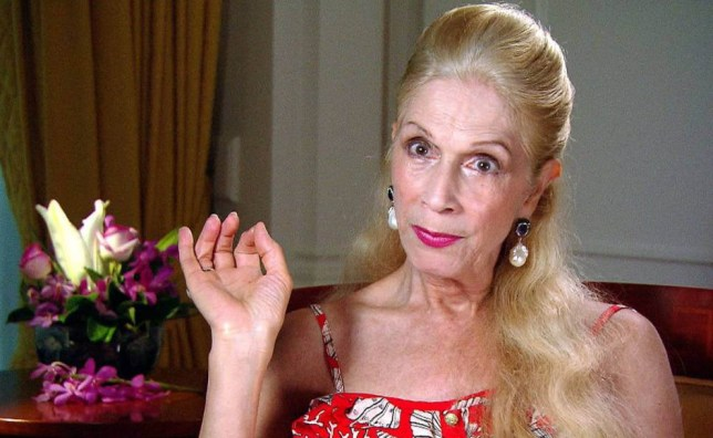 EMBARGO, NOT TO BE USED BEFORE 20:30 02 DEC 2015 - EDITORIAL USE ONLY - NO MERCHANDISING  Mandatory Credit: Photo by ITV/REX Shutterstock (5470029fe)  Lady Colin Campbell interviewed after leaving the jungle  'I'm A Celebrity...Get Me Out Of Here!' TV show, Australia - 02 Dec 2015