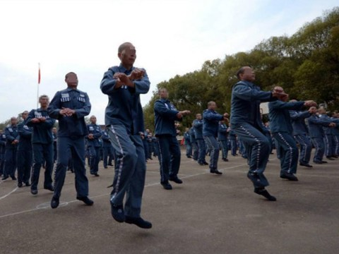 600 prisoners just did a dance-off to Gangnam Style