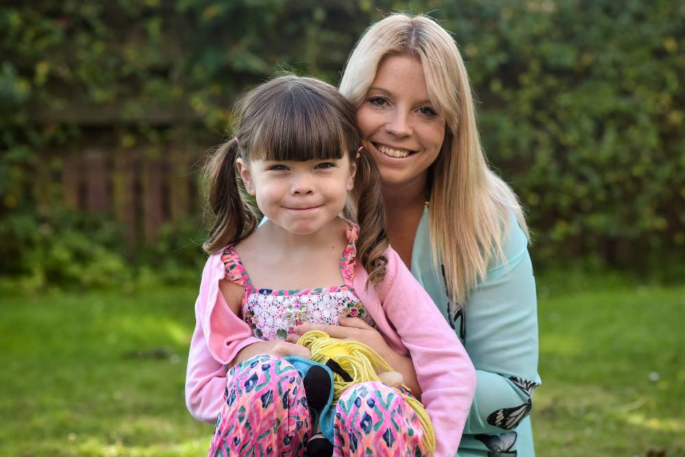Embargo until 15:01 GMT/BST 6 December 2015. Kerry McFadyen, 32, is pictured with her daughter Danni, 6, at their home in Boat of Garten in the Scottish Highlands See South West copy SWTRANNY: A proud mum is embracing her sonís change after she realised he was born in the wrong body ñ aged THREE. Kerry McFadyen knew in her heart of hearts that her son Daniel should have been her daughter when she caught him with a pair of scissors ñ trying to cut his WILLY off. The 32-year-old mum-of-five reckons that her six-year-old child Daniel, now known as Danni, must be the wrong gender, partly because he was always more interested in his sistersí dolls than his brothers' footballs.